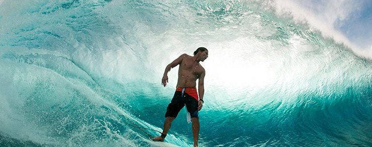 Andy Irons - Kissed by god Filmbild